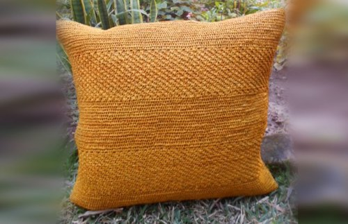 Coussin diary collection cahaya Sil'ouette design madagascar