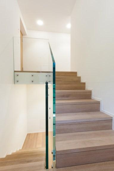 Stiegenaufgang Wohnung Sils