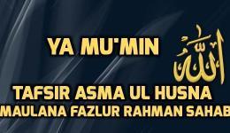 Meaning of Al Mumin