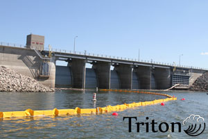 floating turbidity barrier turbidity