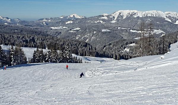 Skigebiet Lofer / Österreich