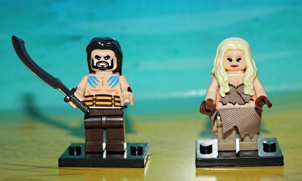 Khal Drogo, Daenerys Targaryen