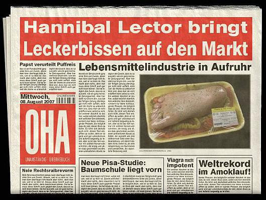 Zeitungs - Generator (2/3)
