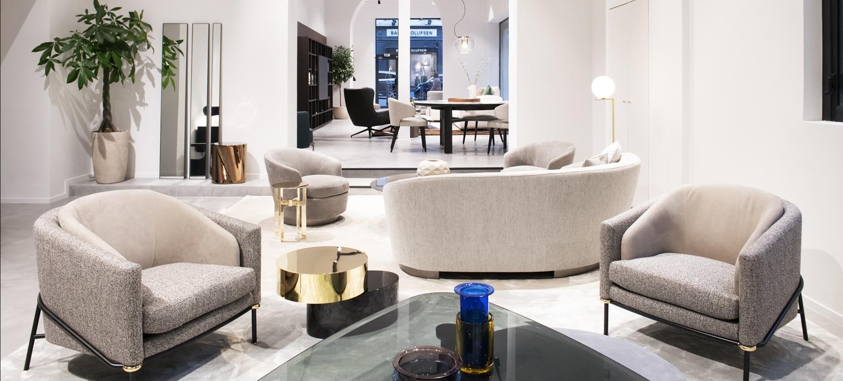 mobilier design marseille minotti magasin meuble contemporain silvera