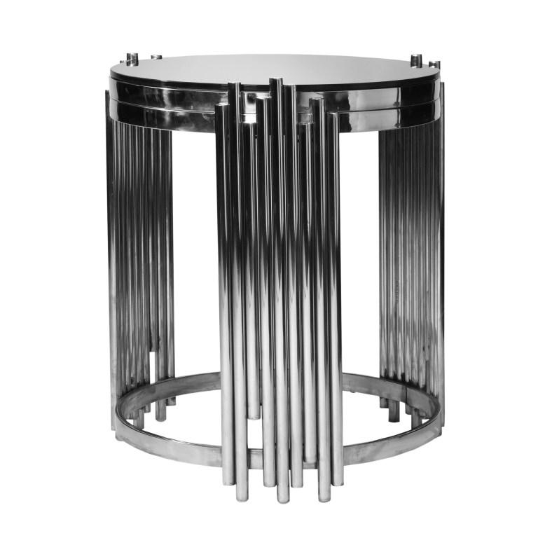 Spark Silver End Table
