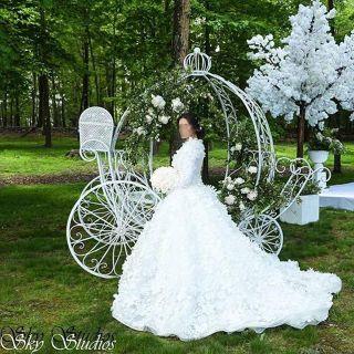 wedding shoot decoration
