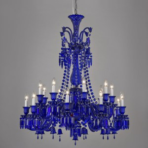 Wynn Chandelier Blue