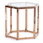 Elle Hex Side Table