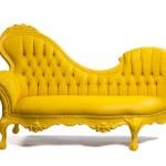 Jasmine Chaise Yellow