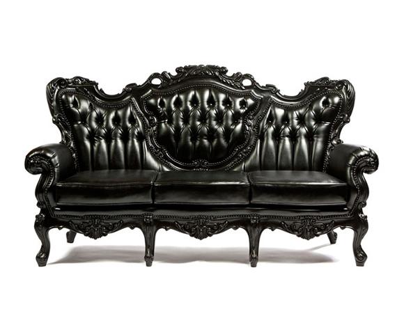 Aladdin Sofa Black