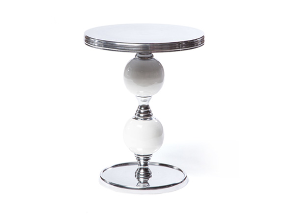Genie Side Table White