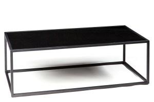 Mod Black Rectangle Coffee Table