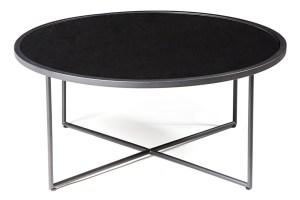 Mod Black Round Coffee Table