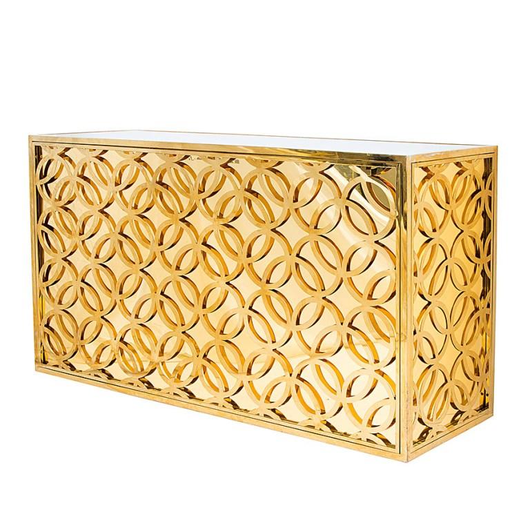 Madison Straight Bar Gold