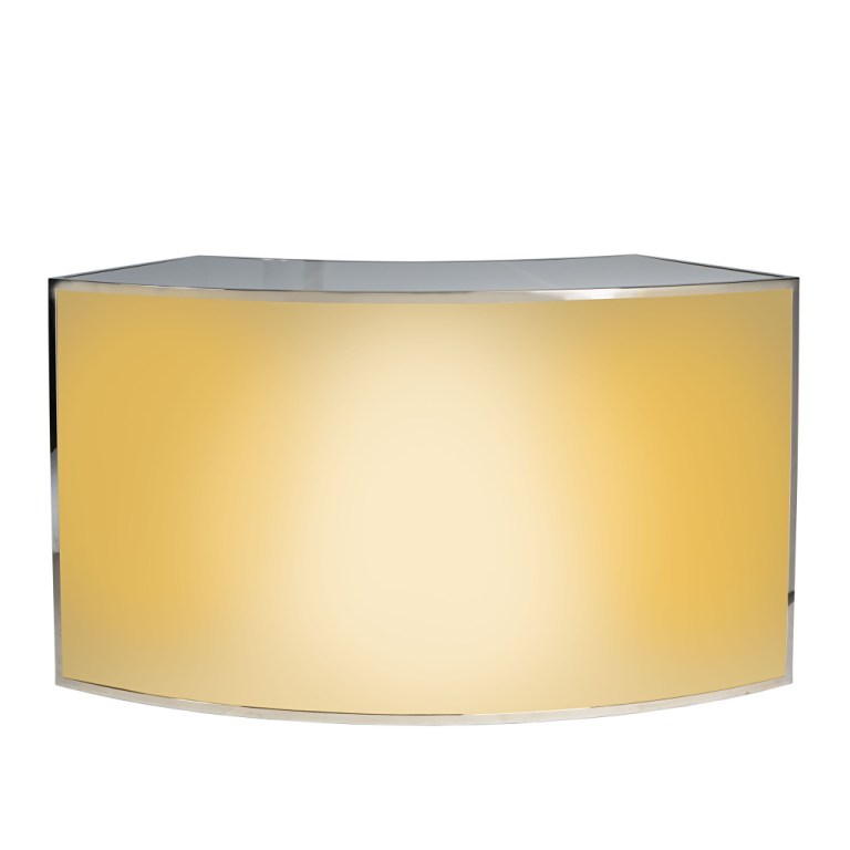 Uno Curved Bar Gold