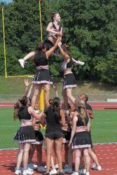 Die Cheerleader sind Teil des Teams und auch Teil des Erfolgs.