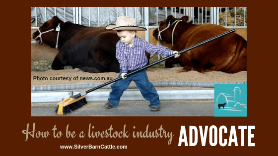 How to Be a Livestock Industry Advocate