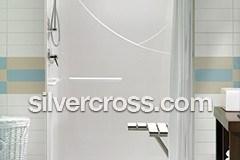 Milestone Bath Safeway Step | Roll-In Showers | Silver Cross