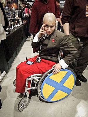 Professor X from the X-men - Merrick Monroe | Via http://cosplay-catwalk.tumblr.com