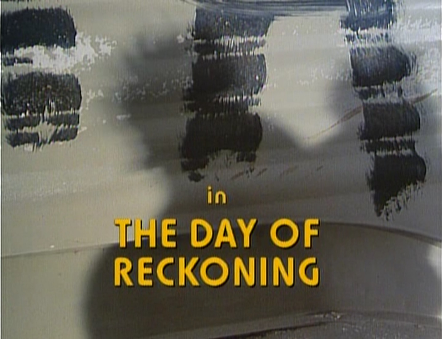 The day of reckoning 1990 silver emulsion film reviews - Philippe campion ...
