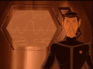 Seriously, what the hell is Spock doing here?