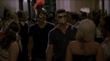 Our boys attend a full-on Eyes Wide Shut party too!