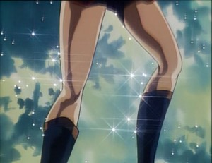 Wait, someone thought those legs belonged to a boy?