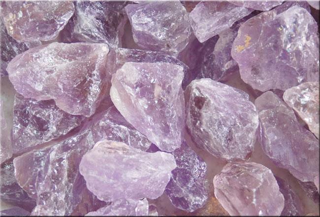 Raw Amethyst 3 Bolivian Amethyst Crystals For Crystal