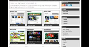 Street Fighter X Tekken Wordpress Theme |