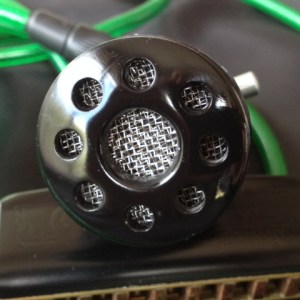 Harmonica Microphone Black Cat