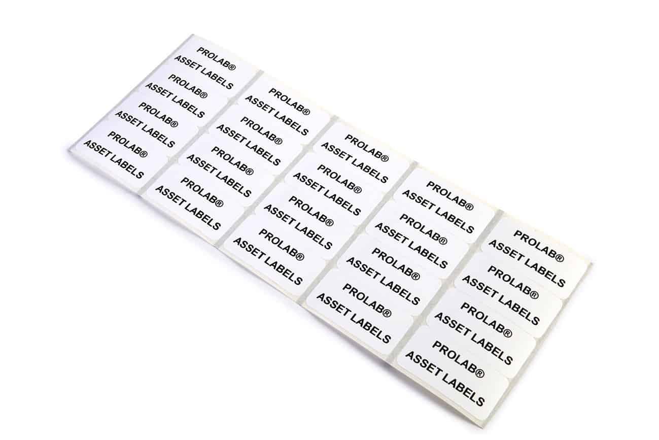 Prolab Asset Labels