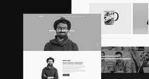 Download AuroraX - Portfolio WordPress Theme