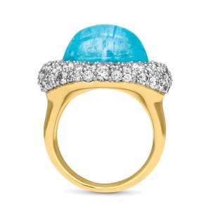 Silverhorn paraiba tourmaline ring