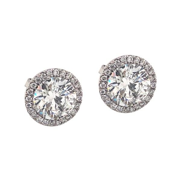 Silverhorn diamond studs