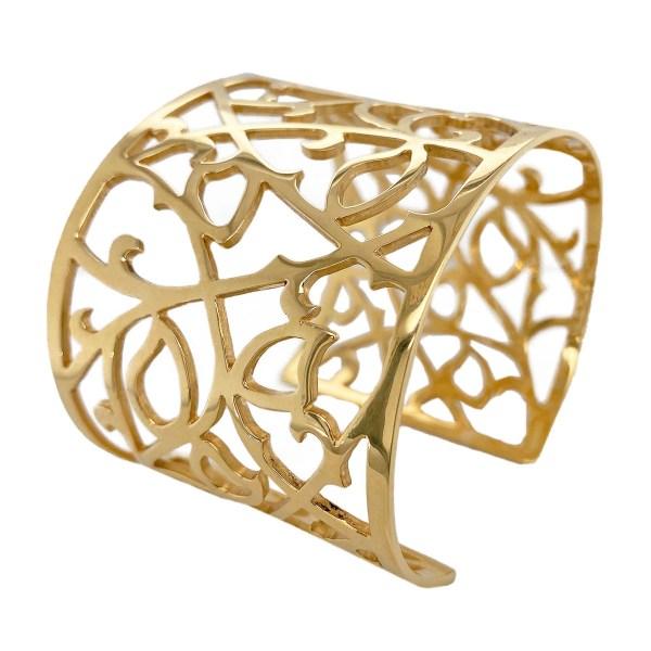 Silverhorn gold cuff