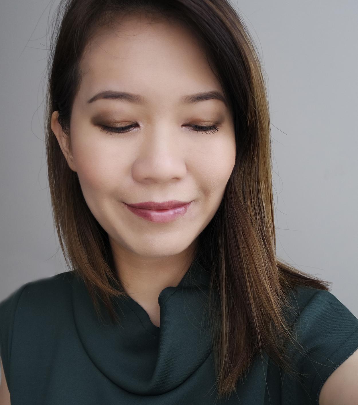 Chanel Les 4 Ombres Codes Subtil makeup look