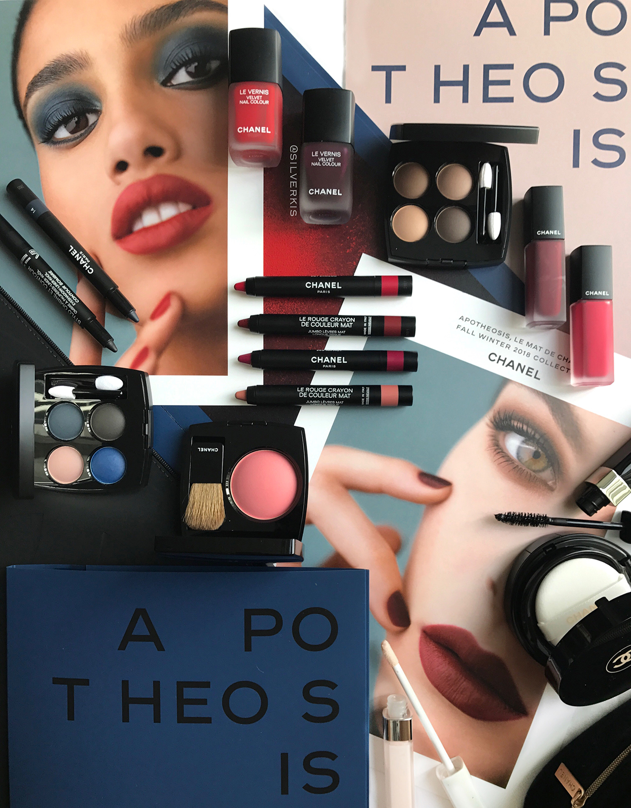 Chanel Apotheosis Fall 2018 Makeup Collection