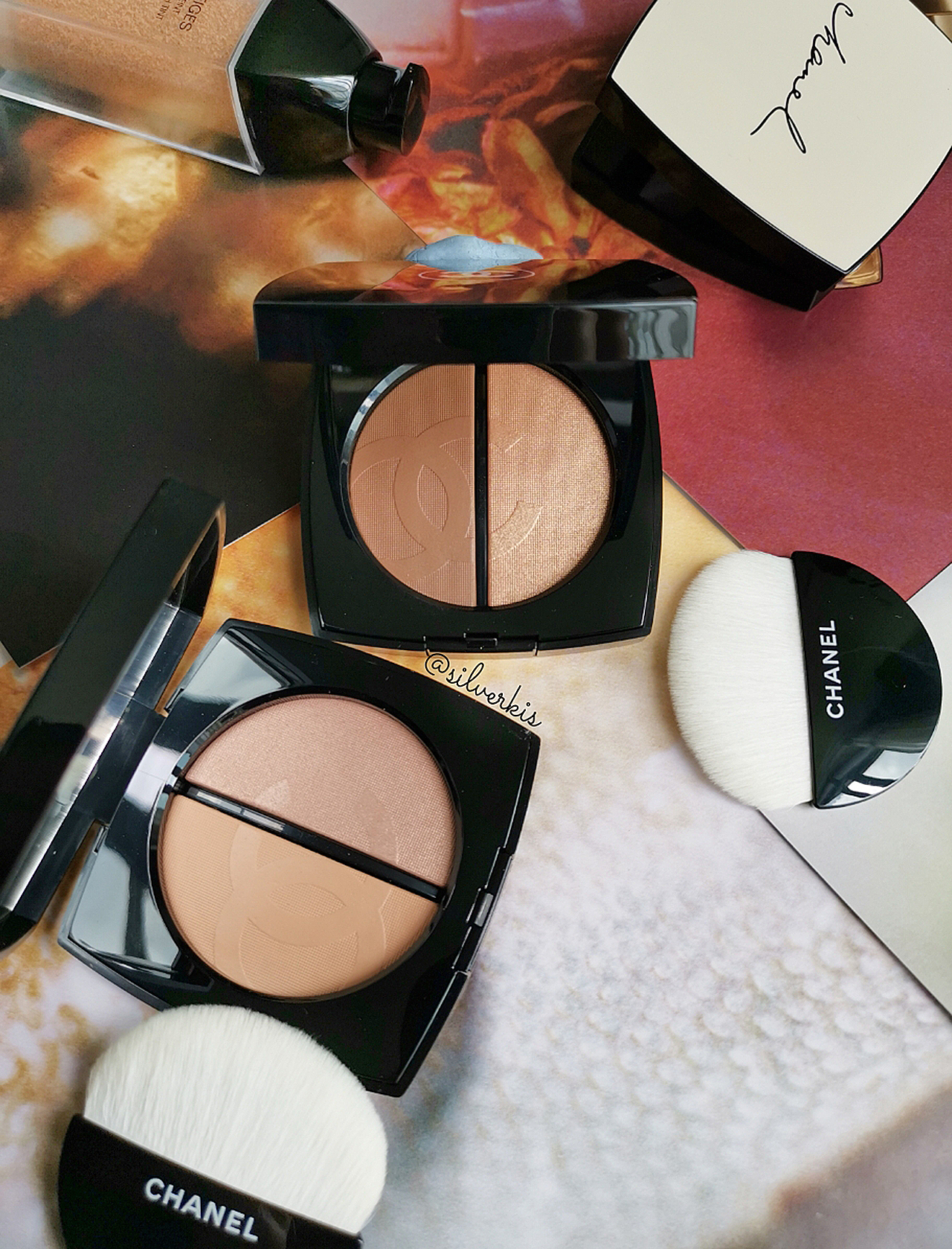 Chanel Bronzer and Highlighter Duo
