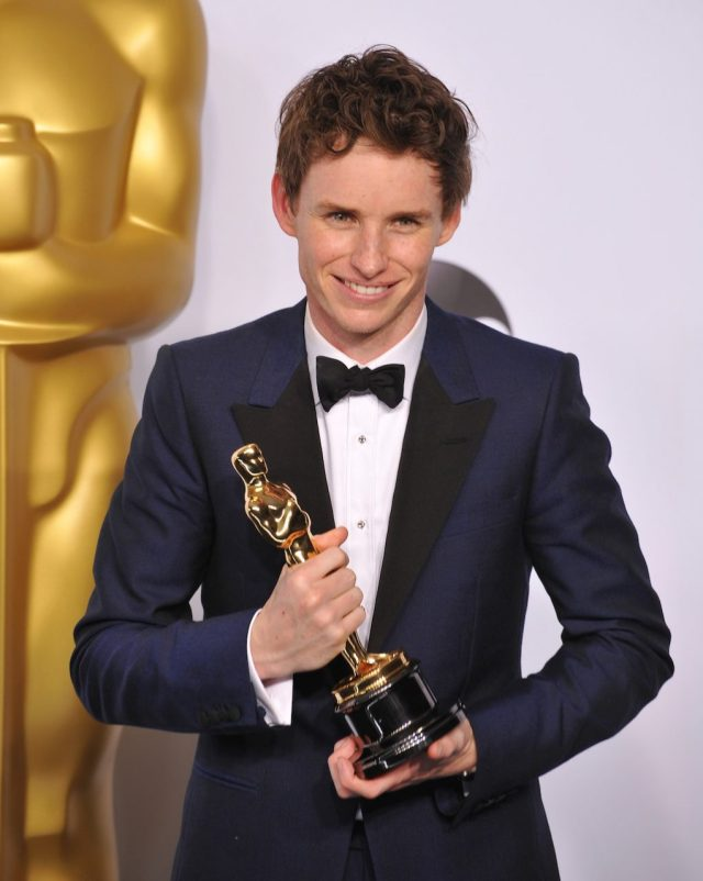 Redmayne won an Oscar for his performance as Stephen Hawking in 2015