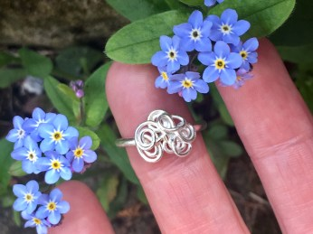 Forget me knot ring 3