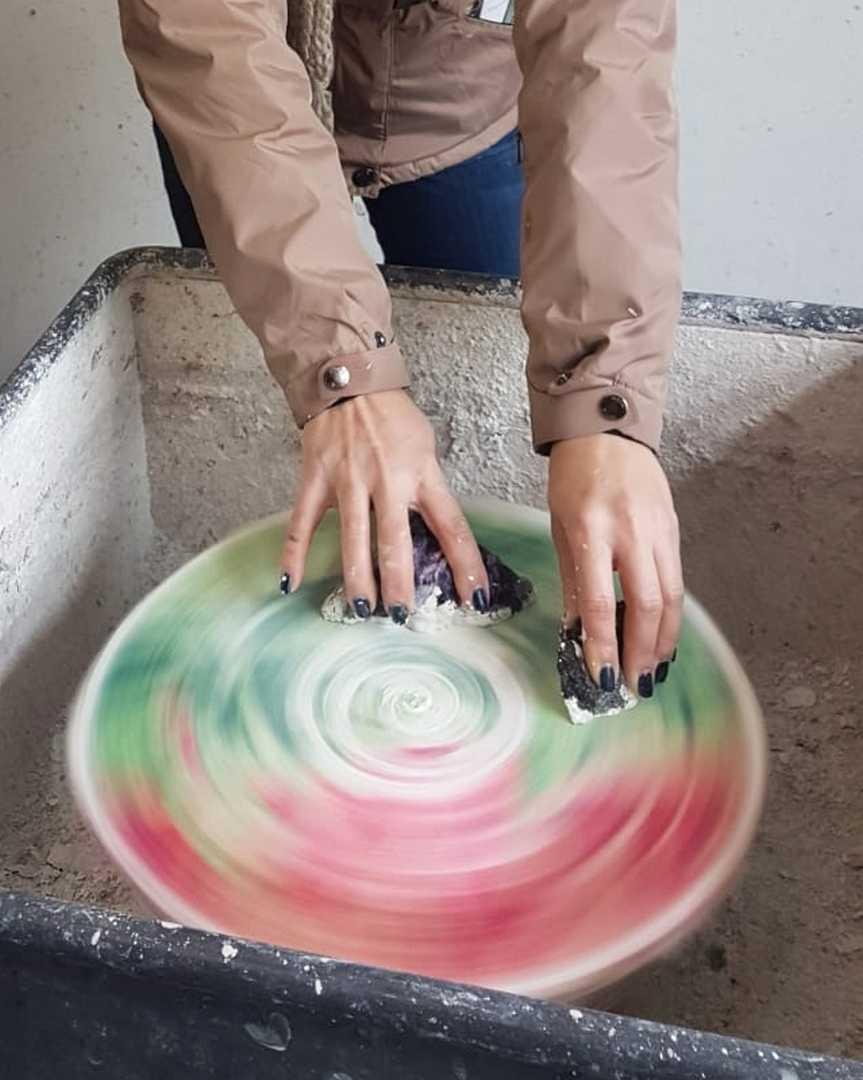 polerowanie minerałów