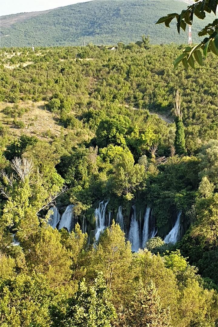 Bośnia i Hercegowina, wodospady Kravica
