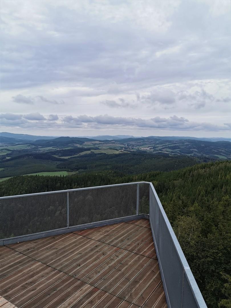 Wieża widokowa na Trójgarbie, Góry Wałbrzyskie