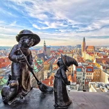 Wrocław. Wszystkie punkty widokowe na miasto