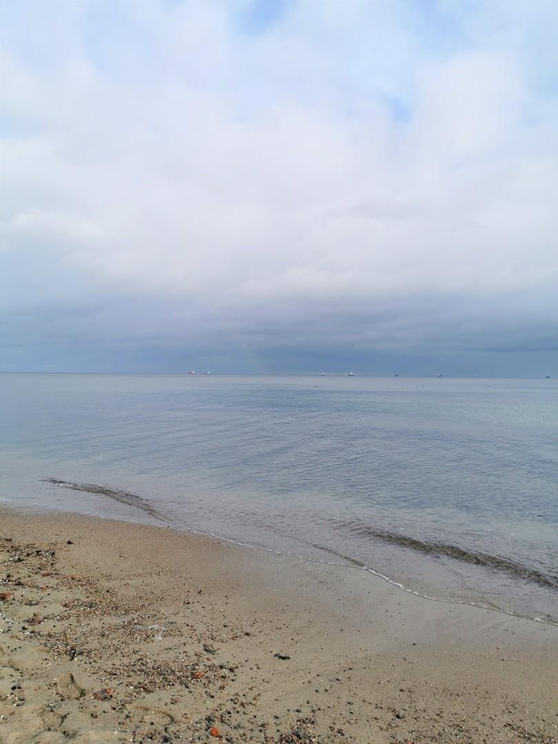 Gdynia - Kępa Redłowska, plaża