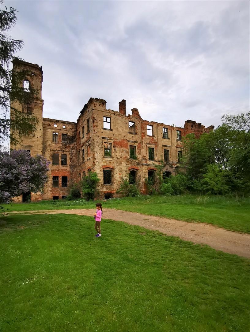Zamki i Pałace Dolny Śląsk, Maniów Mały