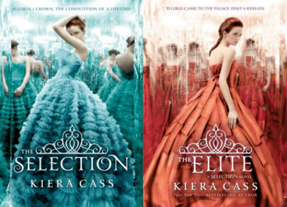 The Selection and Elite Book Covers