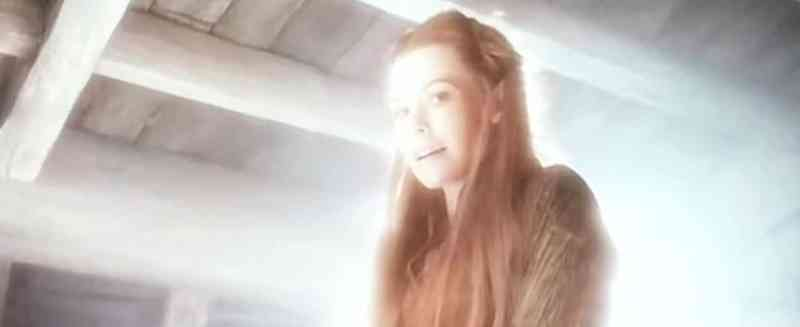 Tauriel as his guardian angel.