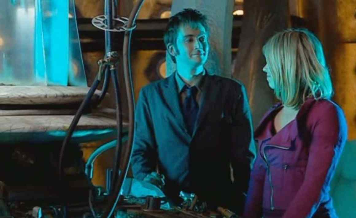 """The Doctor (David Tennant) and Rose Tyler (Billie Piper) are """"the stuff of legend"""" in """"The Satan Pit."""" Photo: BBC"""