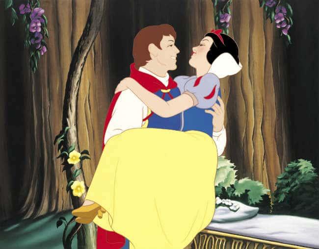 Snow White and her Prince Photo: Walt Disney